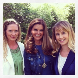 Jessica, Maria Shriver and Myself(Lindsay)
