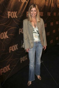 LORETTA FOX FOX January 2006 TCA Party held at Citizen Smith, Hollywood, California. January 17th, 2006 Photo: Zach Lipp/AdMedia/Capital Pictures Ref: ZL/ADM full length jeans denim grey gray jacket www.capitalpictures.com sales@capitalpictures.com © Capital Pictures