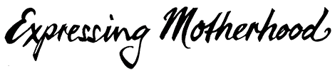 Expressing Motherhood Mobile Logo